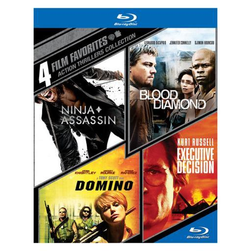 4 film favorites-action thrillers (blu-ray/4 disc) GZCTXVRKN2FDCVYL