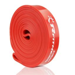 Furinno RF1506-RD 41 in. Rfitness Professional Long Loop Stretch Latex Exercise Band, Red - Extra Heavy