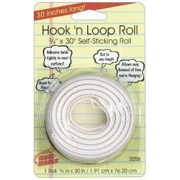 Miller studio hook n loop 3 4in x 30in roll 3256w