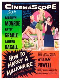 How To Marry A Millionaire Movie Poster Masterprint EVCMMDHOTOFE007LARGE