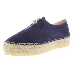 Andre Assous Womens Olivia  Suede Woven Espadrilles
