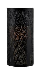 Black Forest Elegant Laser Cut Candle Holder with LED Candle