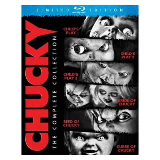 Chucky-complete collection (blu ray) (limited edition/6discs) 1733606