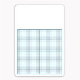 Flipside FLP11161BN Single 0.25 in. Graph Dry Erase Board