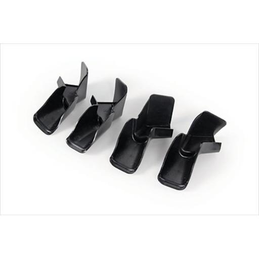 42323 Gutter Spouts With Extensions 4 Pack Black