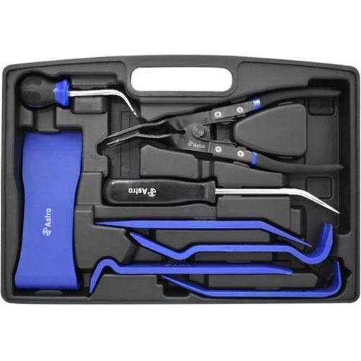 Astro Pneumatic Tool AST-45080 Door Panel & Trim Removal Tool Set, 8 Piece