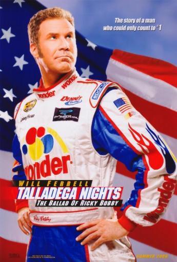 Talladega Nights: The Ballad of Ricky Bobby Movie Poster Print (27 x 40) V7HDSEZNQ31ZRCGI