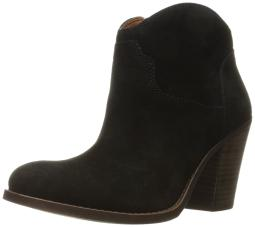 Lucky Brand Womens Elle Round Toe Ankle Fashion Boots, Black 05, Size 9.0