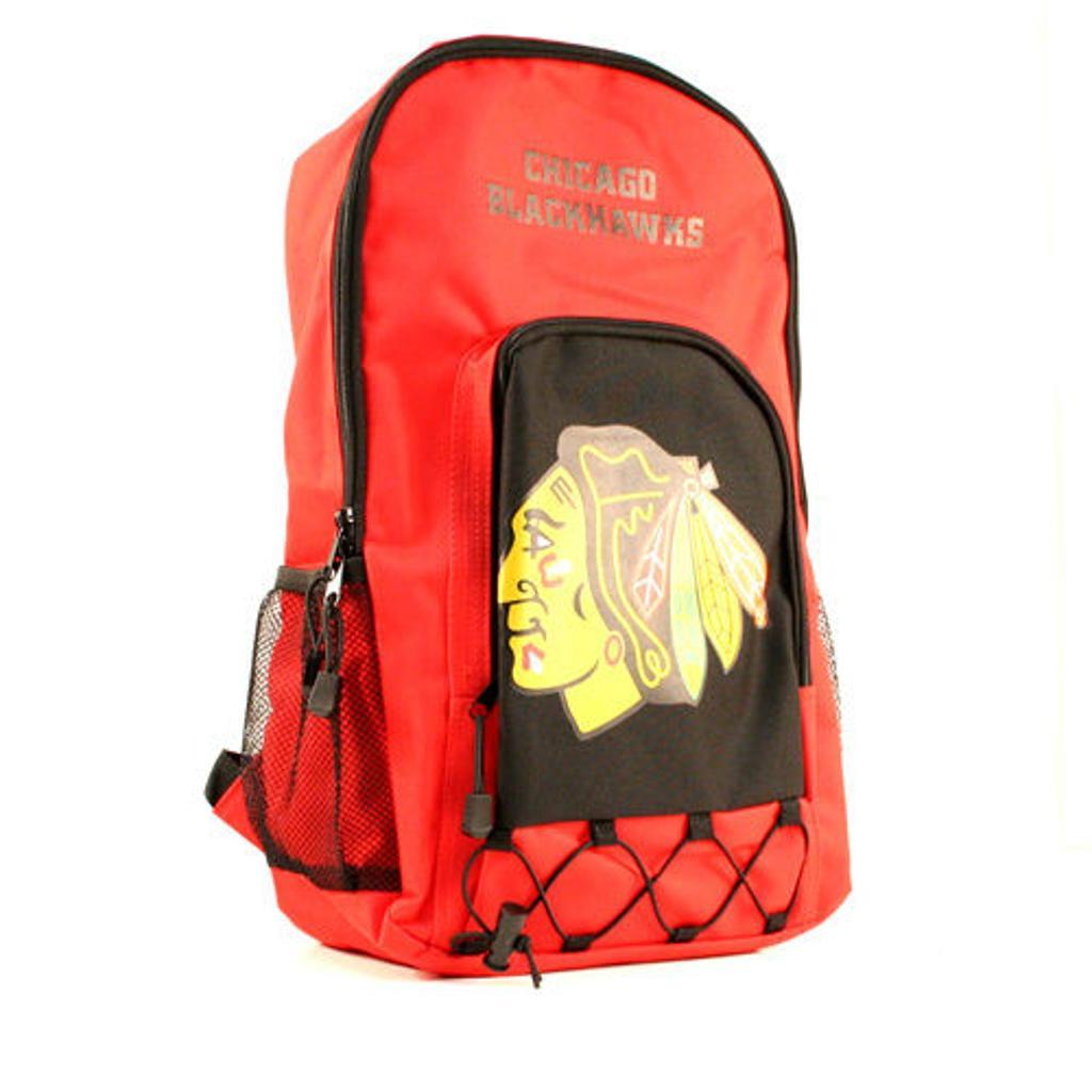 "Chicago Blackhawks NHL ""Echo Bungee"" Backpack"