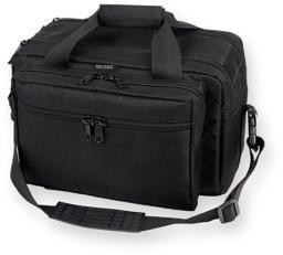 Bulldog bd905 bulldog deluxe range bag with pistol rug (x-large) - black