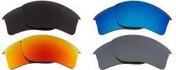 Best SEEK Polarized Replacement Lenses Oakley FLAK JACKET XLJ Gry Red Silver Blu 025-05030410-01