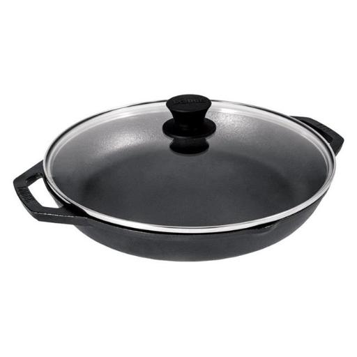Lodge 6655567 12 in. Cast Iron Skillet & Lid