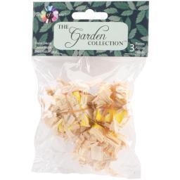 "Fairy Garden Mini Straw Bales 3/Pkg 1""X1""X.75"