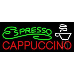 Sign Store N105-4056-outdoor Espresso Cappuccino Outdoor Neon Sign, 32 x 13 x 3.5 In.