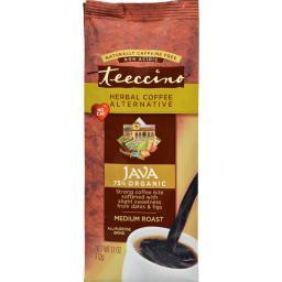 Teeccino Mediterranean Herbal Coffee Java - 11 oz - Case of 6