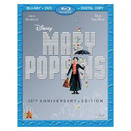 Mary poppins 50th anniversary edition (blu-ray/dvd/dc/2 disc) BR111789