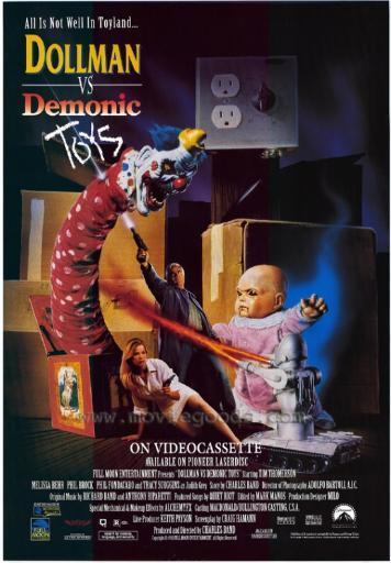 Dollman Vs Demonic Toys Movie Poster (11 x 17) RLEMCC06LGKFBPFU