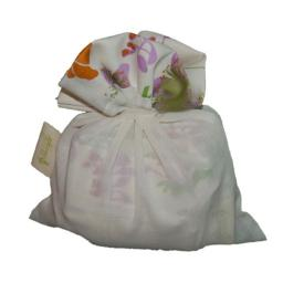 A Greener Kitchen PB001GN Organic Cotton Reusable Produce Bags - Garden Natural (Set of 6)