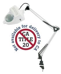Alvin ml100-d 1.75x swing-arm magnifier lamp white