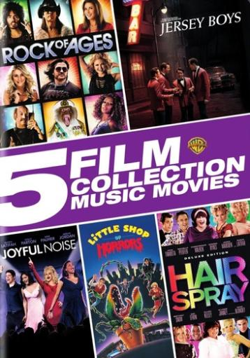 5 film collection-music movies collection (dvd/5 disc) 1294696