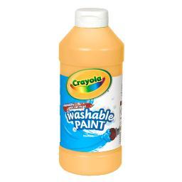 Crayola llc crayola washable paint 16 oz peach 201633
