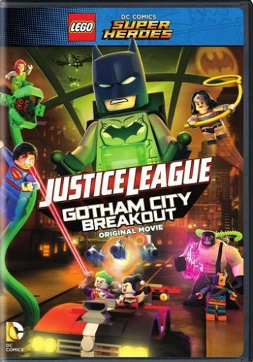 Lego dc super heroes-justice league-gotham city breakout (dvd/no figure) WSUPLDTJNH8PCLQ3