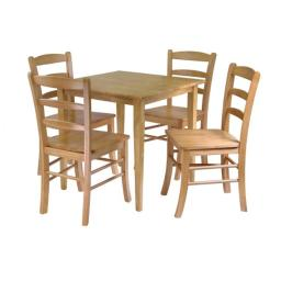 Winsome 34530 Groveland 5 Pieces Dining Table