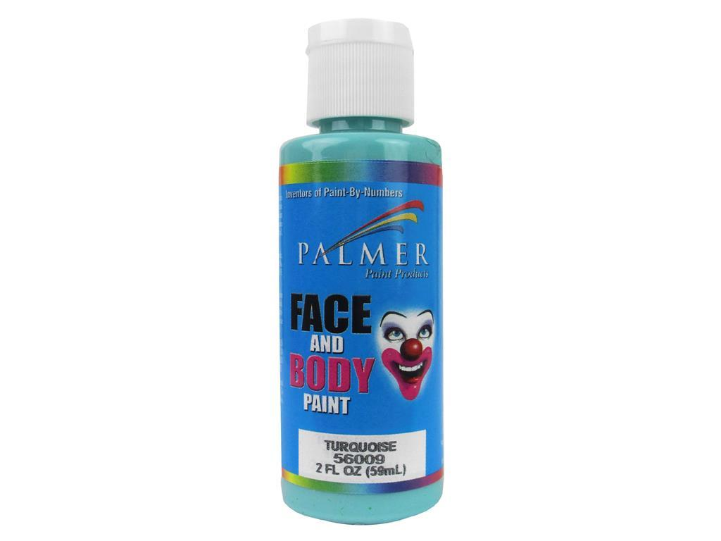 56009-36 palmer face paint 2oz turquoise