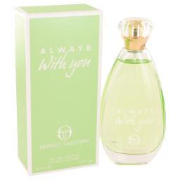 Always With You By Sergio Tacchini For Women - 3.3 Oz Edt Spray  3.3 Oz