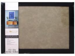 Dar30023390 darice dry erase board 17x22 blk taupe