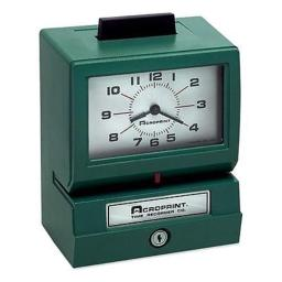 acroprint-time-recorder-011070400-model-125-analog-manual-print-time-clock-with-date-0-12-hours-minutes-afcadba34e02917a