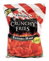 TGI Fridays Snacks Multipacks (Extreme Heat Hot Fries, 2.25 oz (6-count))