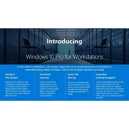 Microsoft oem software hzv-00054 windows 10 pro for workstation