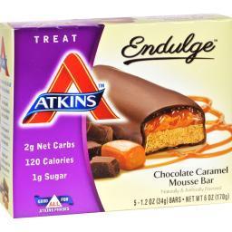Atkins Endulge Bar Chocolate Caramel Mousse - 5 Bars
