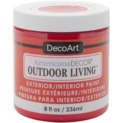 Americana Decor Outdoor Living Paint 8oz Ladybug