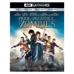 Pride & prejudice & zombies (blu-ray/4k-ultra hd mast/2016/uv combo/2 disc) BR47408