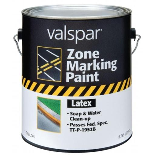 Valspar Brand 1 Gallon Red Zone Marking Paint 24-138 GL - Pack of 2
