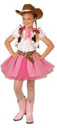 Cowgirl Cutie Child Lrge 12-14 LF4008PKLG