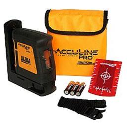 AccuLine Pro 40-6625 Self-Leveling Hi-Powered Cross-Line Laser Level