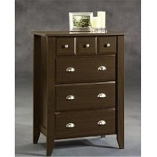 Childcraft F04702.07 Childcraft by Sauder Shoal Creek 4 Drawer Chest - Jamocha
