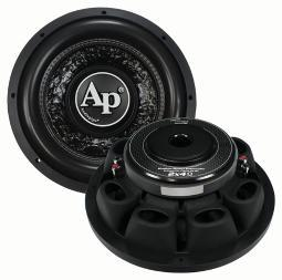 Audiopipe  Audiopipe 10 Shallow Woofer Dual Vc 4 Ohm 600 Watts