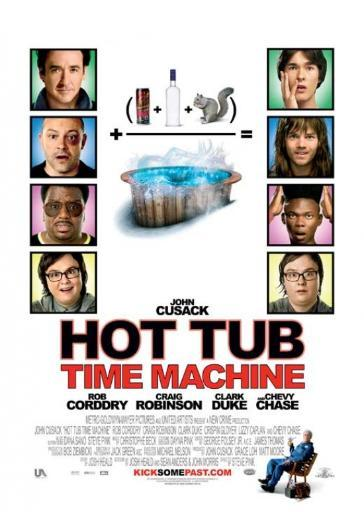 Hot Tub Time Machine Movie Poster (11 x 17)
