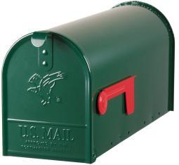 Gibraltar E1100g00 Mailbox Elite, Forest Green