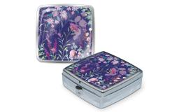 Pun43841 punch studio pill box wildflowers