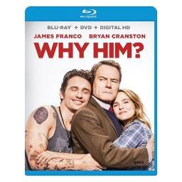 Why him (blu-ray/dvd/digital hd/combo/movie cash for snatched) BR2331767