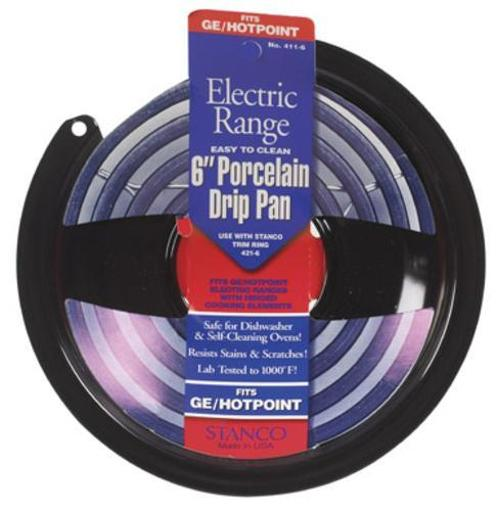 Stanco 411-6 Electric Range Drip Pan, 6