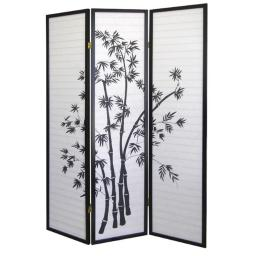 Ore International R591 3-Panel Room Divider - Bamboo