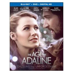 Age of adaline (blu ray/dvd w/digital hd) (ws/eng/eng sub/sp sub/eng sdh) BR47628