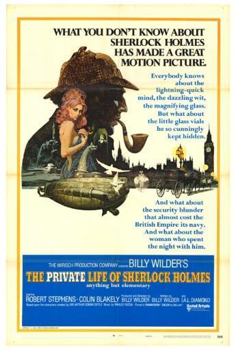 The Private Life of Sherlock Holmes Movie Poster Print (27 x 40) T0KOU4VM3L5CRZXN