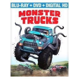 Monster trucks (blu ray/dvd w/digital hd) (2disc) BR59185824
